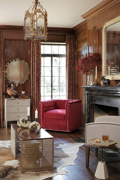 Transitional Living Room by Gabby