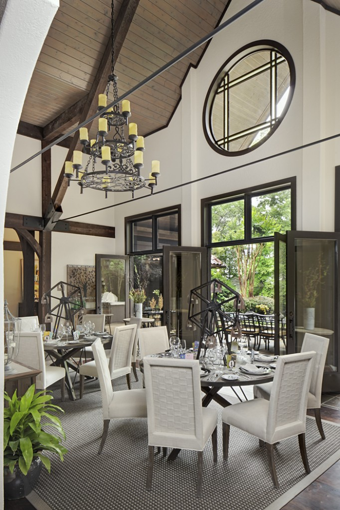 Decorators' Showhouse- Indoor Furnishings and Outdoor Furnishings on