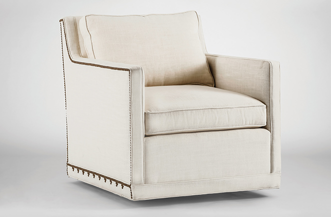 Gabby Vintage Swivel Chairs Elegantly Highlight The Home