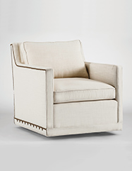Nora Swivel Chair | Custom Tailored