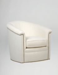 Barclay Swivel Chair | Custom Tailored