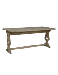 White And Gold Metal Console Bryson By Gabby