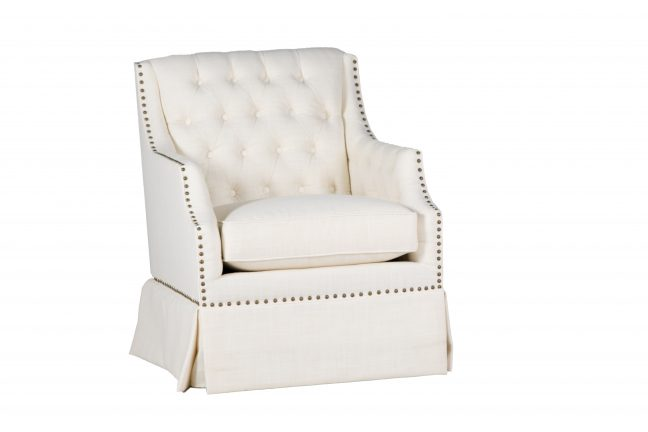 Graham Swivel Chair | Custom Tailored