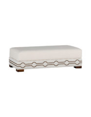 Keran Cocktail Ottoman | Custom Tailored