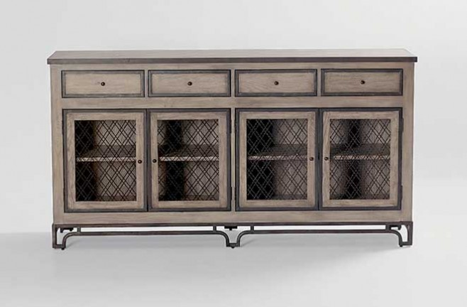 antique style media center furniture - Media Centers That Blend Form And Function