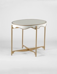 Trudy Oval Side Table