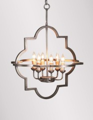 Athena Large Chandelier- Brass
