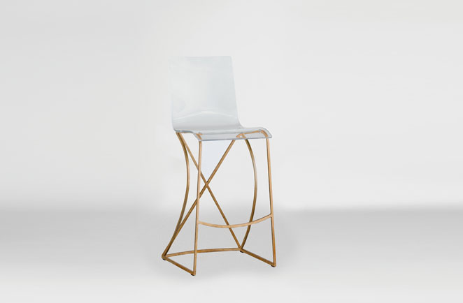 Transparent Acrylic Bar Stool