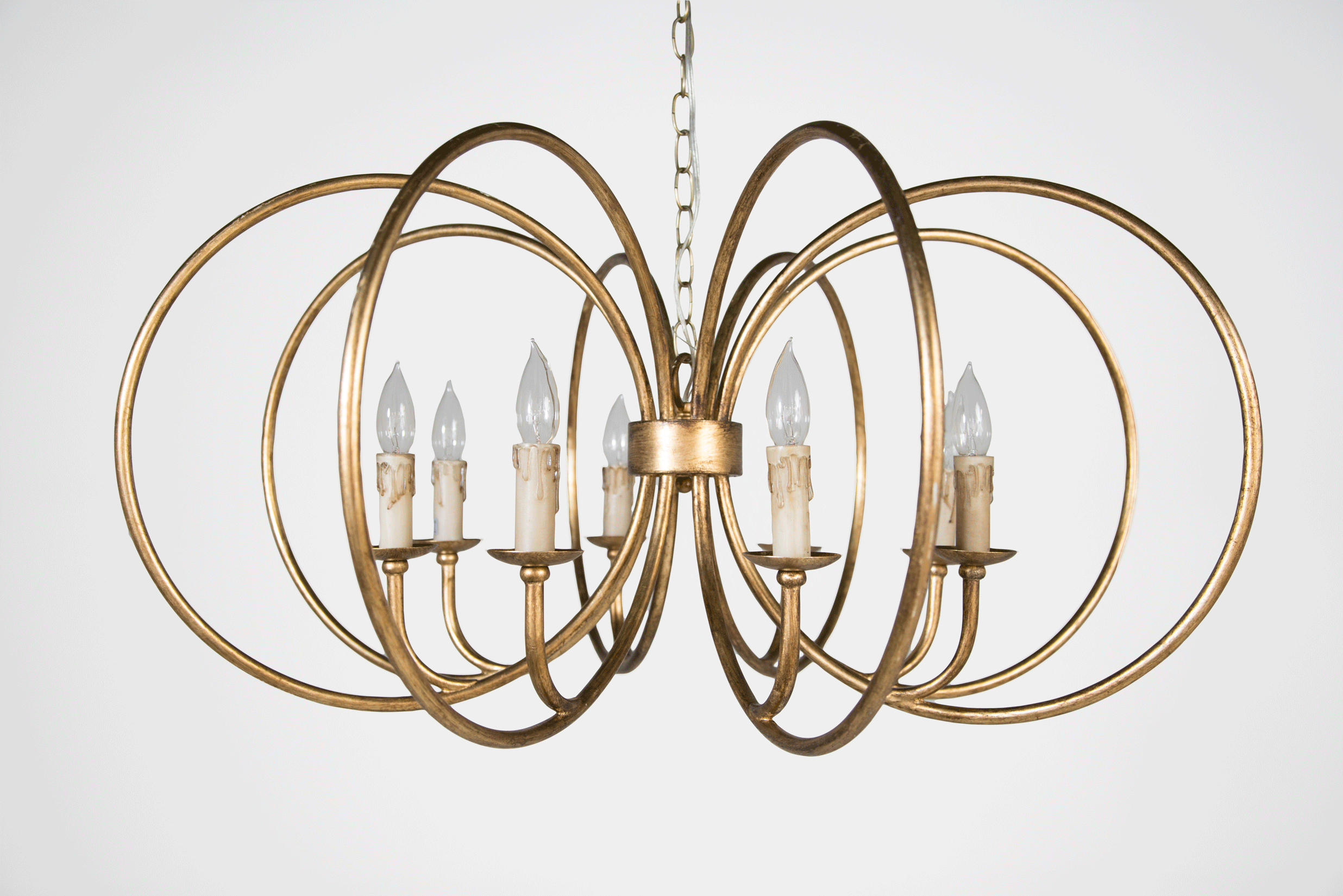 Gabby designers use thematic shapes in new eclectic lighting gabby alta chandelier arubaitofo Images