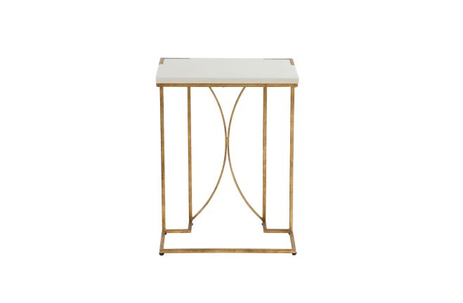 Amber Gold C Table Metal C Table Gabby