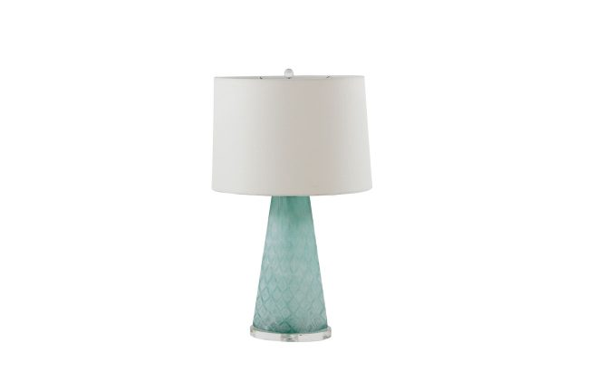 Mint Glass Lamp | Chloe Table Lamp | Gabby