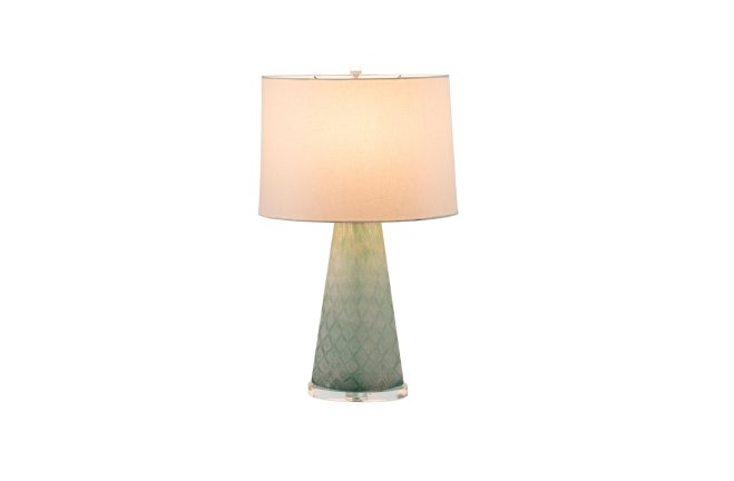 Perfect ... Mint Glass Lamp | Chloe Table Lamp | Gabby ...