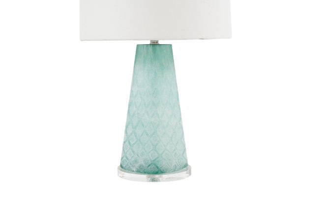 Marvelous ... Mint Glass Lamp | Chloe Table Lamp | Gabby ...