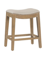 Vivian Counter Stool - Burnished Oak
