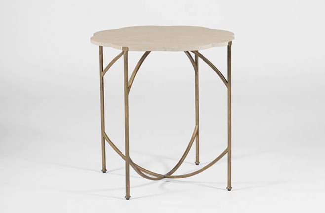 Transitional Accent Table