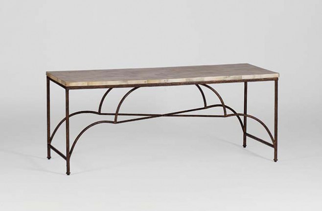 Transitional Horn Coffee Table