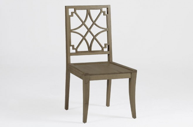 Unique Transitional Wood Dining Chair