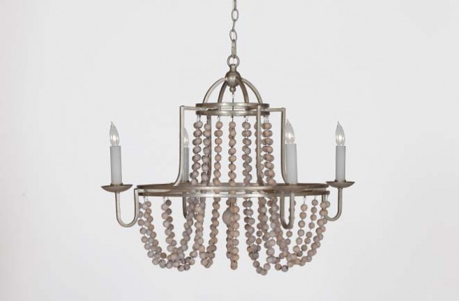 Antique Transitional Lighting Sonya Chandelier
