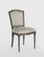 French Antique Style Furniture Cafe Chair