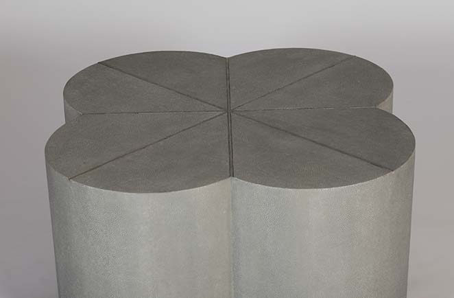 Robinson quatrefoil coffee table detail