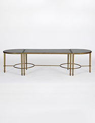 Milo Antique Mirror Coffee Table