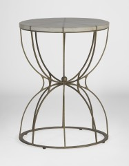 Gabbert Transitional Round End Table