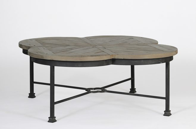 Edwin Quatrefoil Coffee Table