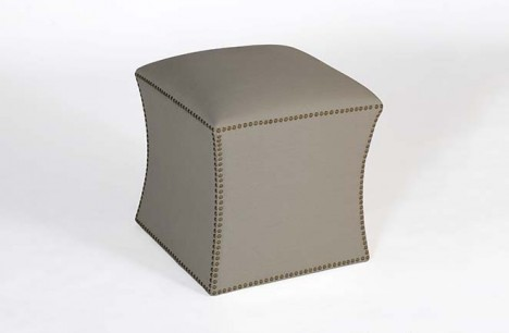 Portia footstool detail