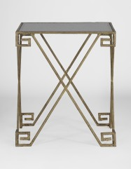 Maximus Greek Key End Table