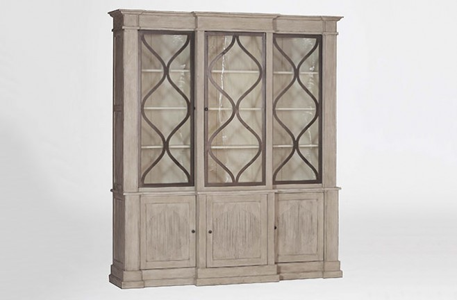 French Country breakfront cabinet | Samantha by Gabby