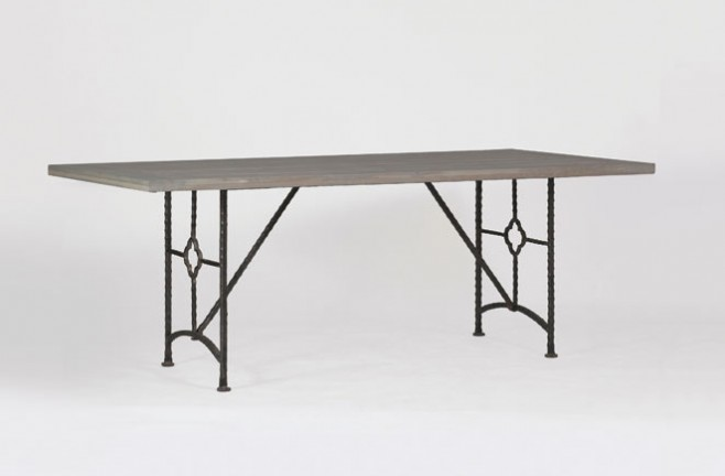 Transitional Zinnia Dining Table