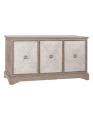 Ansley Parched Oak Cabinet