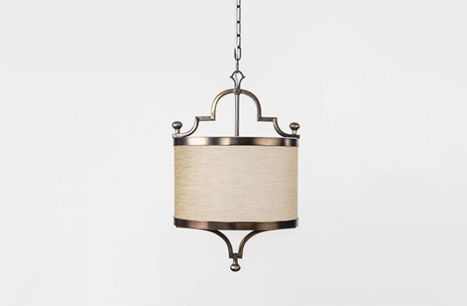 Shade Pendant  Drum Pendant  Butler Drum Pendant Lighting  Gabby