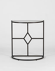 Transitional Shagreen Side Table Daniel Shagreen Table