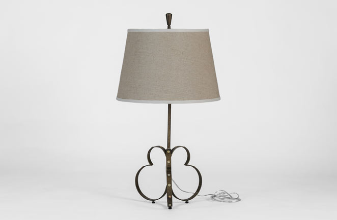 eclectic transitional lamps