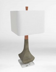 Coffield Shagreen Lamp