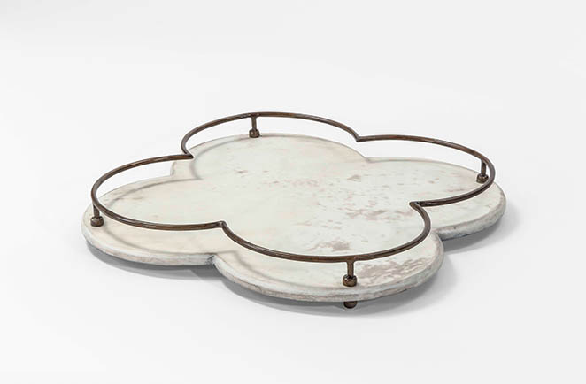 vellum serving tray