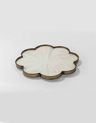 Finley Faux Horn Tray - Set of 2