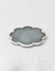 Duncan Faux Horn Tray - Set of 2
