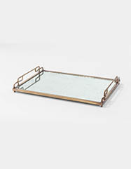 Felix Eglomise Tray - Set of 2