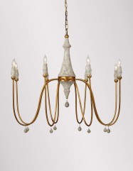 Clay Chandelier