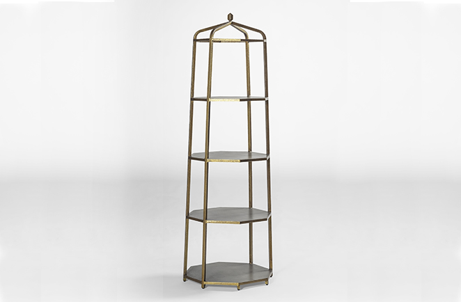 Etagere designs for distinctive home decor gabby henderson gold etagere bookshelf solutioingenieria Image collections