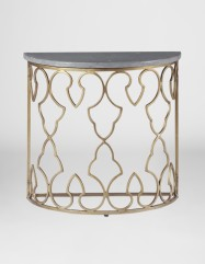 Rodger Demilune Side Table