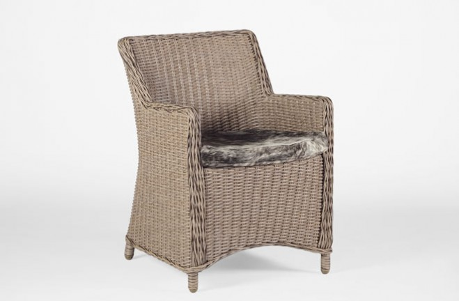 High Quality Smith Wicker Arm Chair