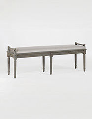 Francis Bench with Cushion | Choice Collection