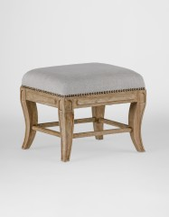 Klismos Stool - Burnished Oak