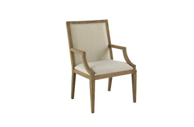 Katherine Arm Chair - Burnished Oak