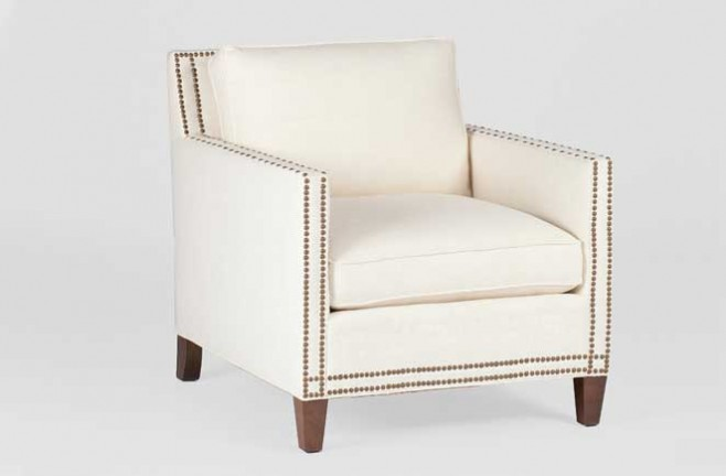 Transitional Tailored Chair