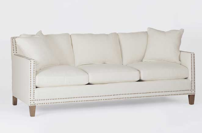 transitional custom sofa