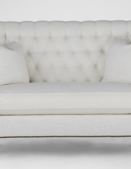 Antique Style Settee Dahlia Loveseat Gabby Custom Tailored